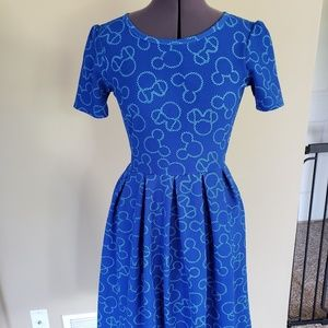 Disney Mickey Lularoe Amelia dress